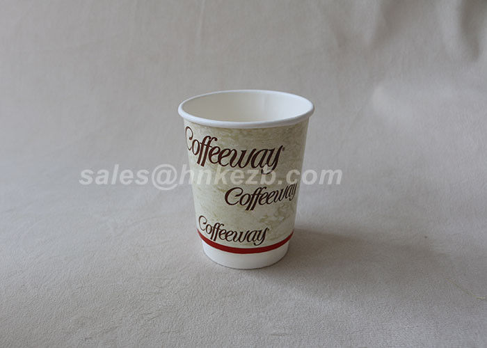 Disposable Coffee Boxes Food Grade Coffee Paper Cup 6oz Disposable Printed Cup