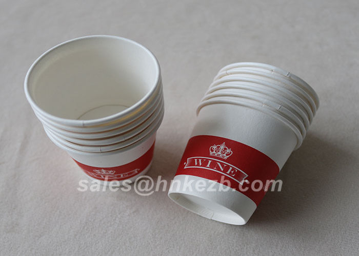 Eco - Friendly PLA Paper Cups Coated 12oz Disposable Double Wall Paper Coffee Cups
